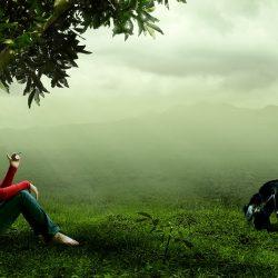 Shepherd and Nature