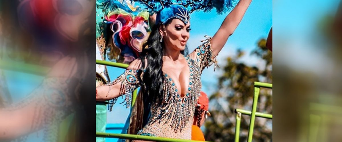 Maribel Guardia deslumbra en Mérida