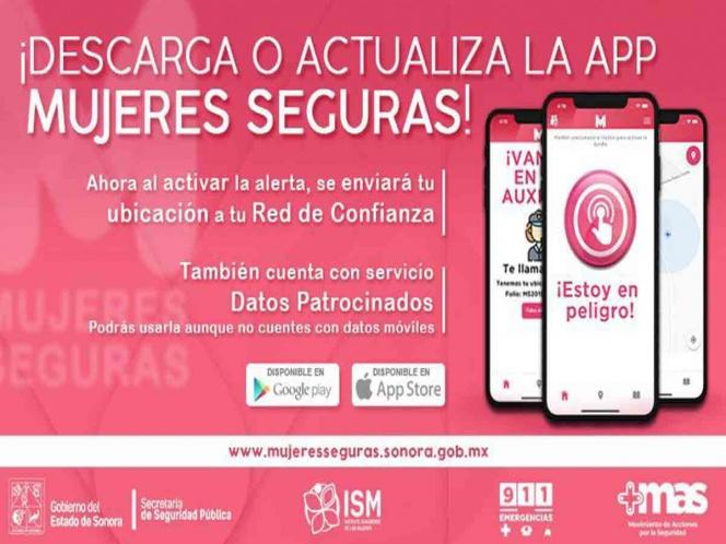App 'Mujeres seguras' ahora funciona sin internet