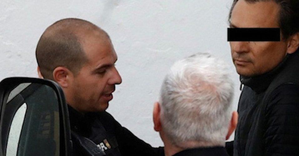 Trasladan a Emilio Lozoya de Málaga a cárcel en Madrid