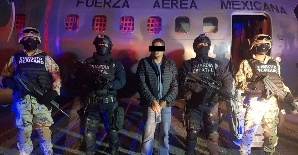 Detienen a lugarteniente de 'El Marro' en Baja California
