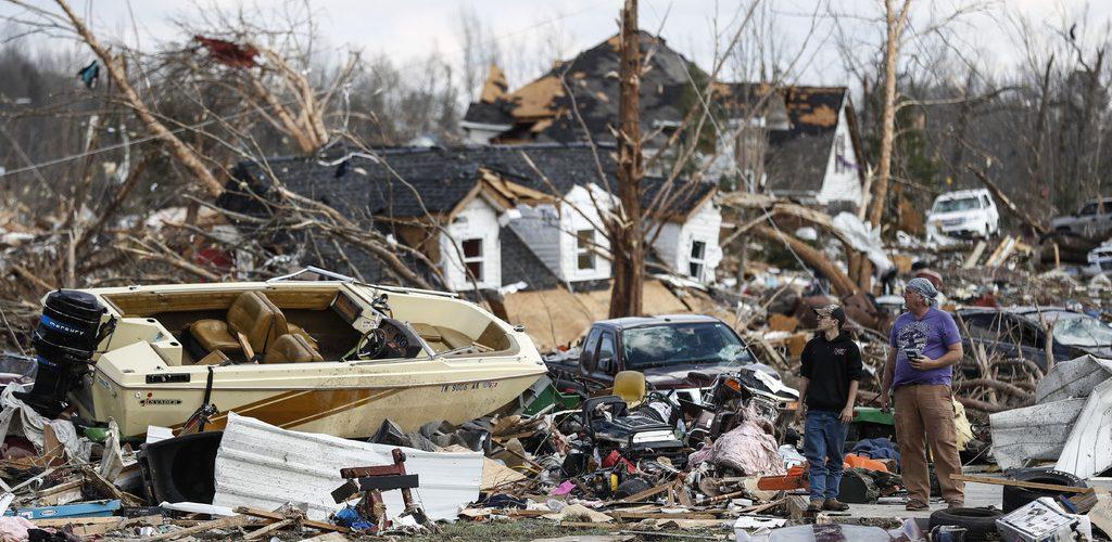Decretan emergencia en Tennessee por tornados