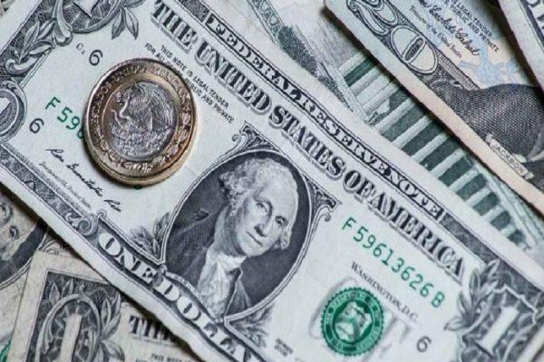 Repunta el peso 0.35% ente el dólar