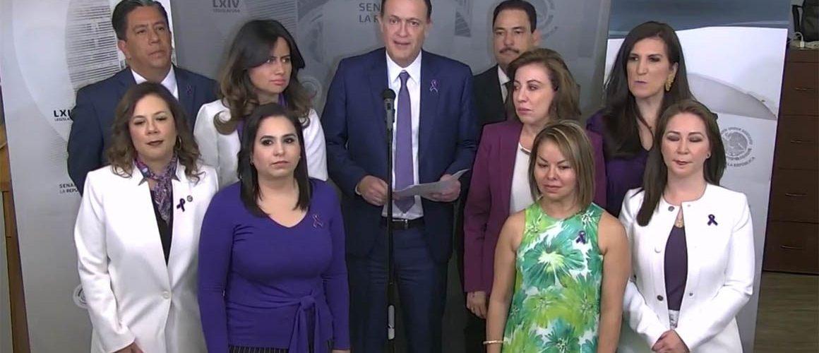 Senadores del PAN exigen a AMLO estrategia contra Covid-19