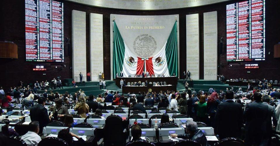 Cámara de Diputados aprueba fondo para emergencias sanitarias