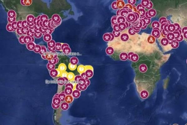Google Maps activa un mapa interactivo con información de Coronavirus