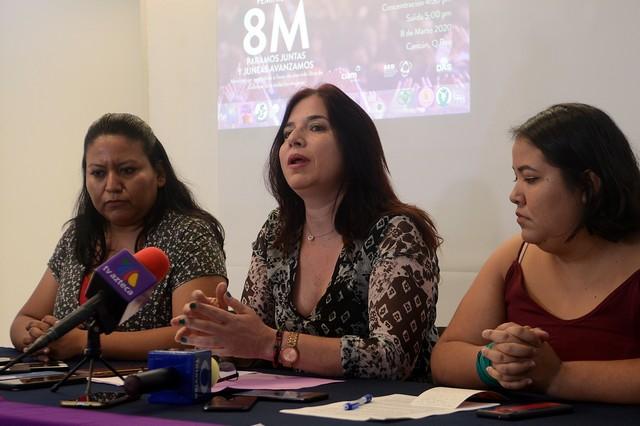Convocan a marcha feminista el 8 de marzo