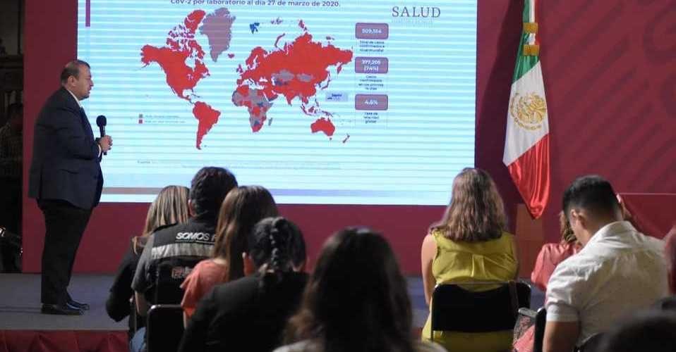 Aumenta a 132 casos de coronavirus en México