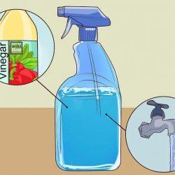 Los usos domésticos del vinagre para limpiar