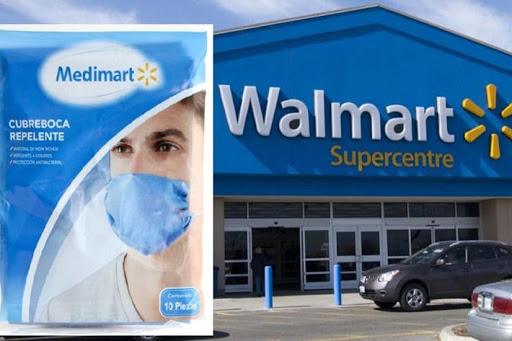 Exhiben a Walmart por acopio desmedido de cubrebocas