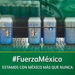 HEINEKEN México dona más de 100 mil latas de agua y más de 15 mil botellas de gel