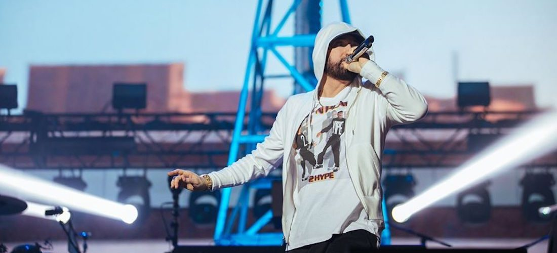 Eminem festeja 12 años de sobriedad
