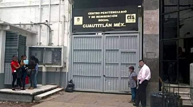 Aíslan a 23 reclusos en el penal de Cuautitlán por COVID-19