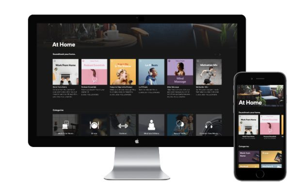 Conoce Spotify at Home