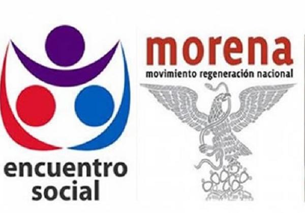 Morena y Encuentro Social aceptan apoyar económicamente a campaña contra el convid-19