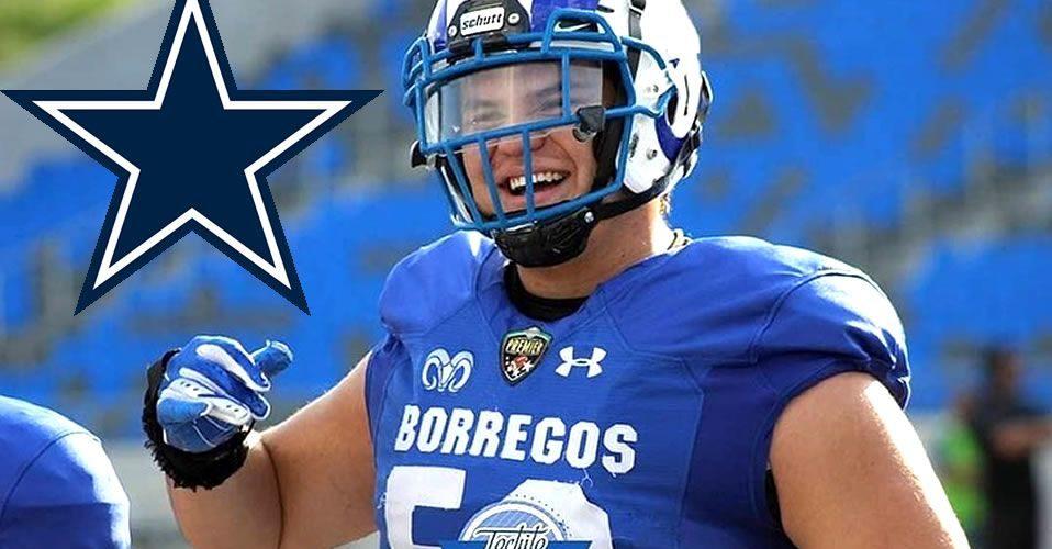 Isaac Alarcón se une a los Vaqueros de Dallas de la NFL