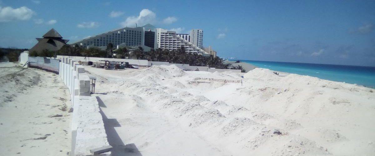 Suspenden construcción del hotel Gran Solaris Cancún