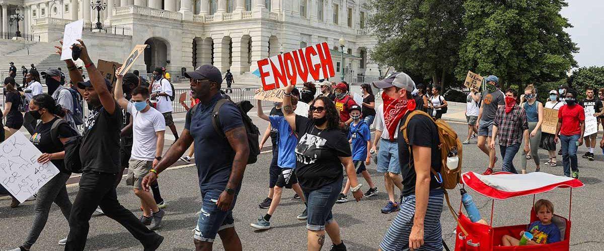 Aumenta tensión en EU por protestas raciales