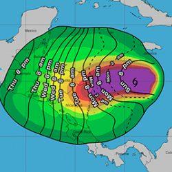 El huracán ETA ya es categoría 3