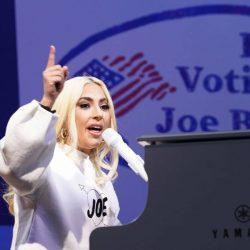 Lady Gaga se robó la noche en el cierre de campaña de Joe Biden